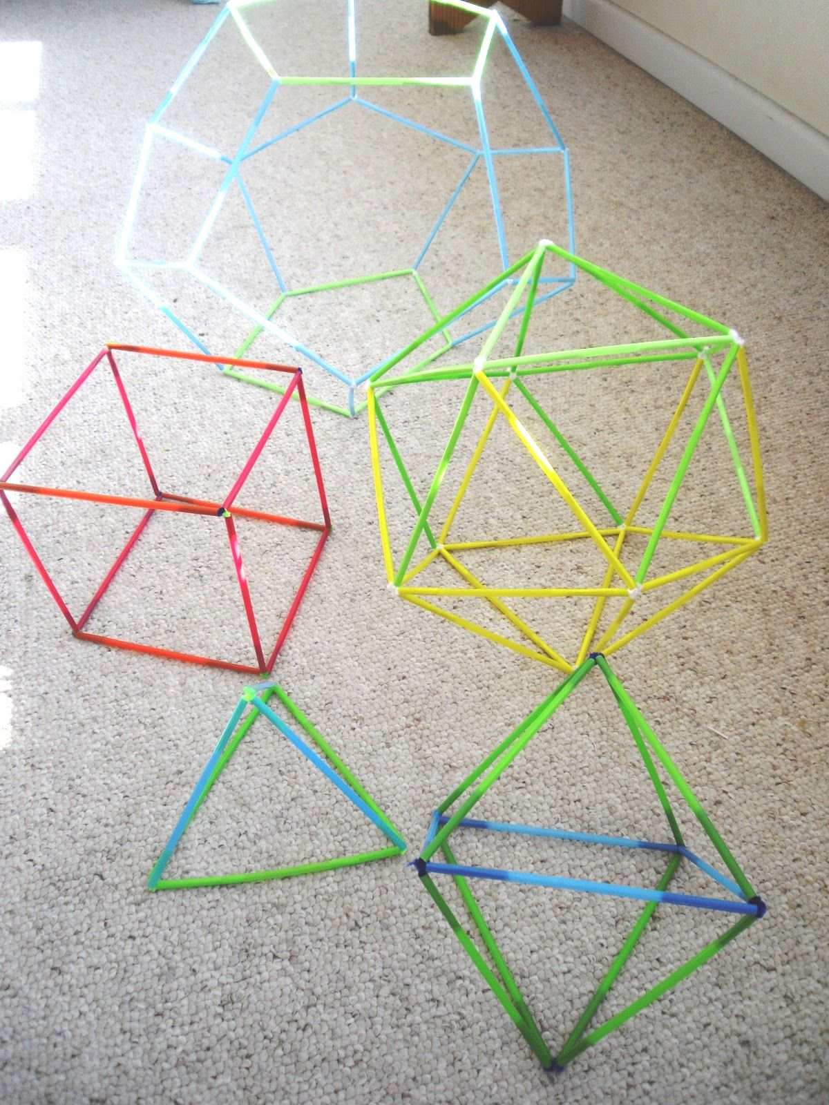 Shapes Shapes Pinterest Platonic Solid