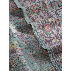 Photo of benuta Trends flat woven carpet Ayla multicolor / turquoise 80×150 cm – vintage carpet in used look