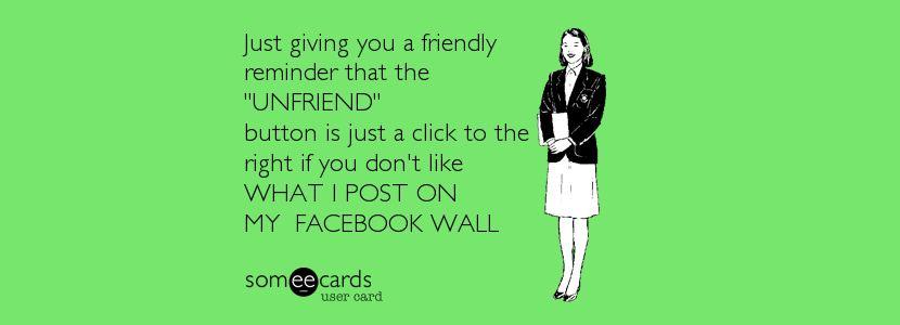 71 sarcastic funny quotes when unfriending facebook