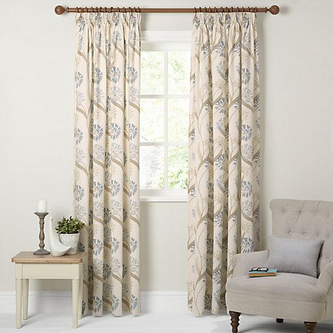 Buy Maggie Levien For John Lewis Ariana Lined Pencil Pleat Curtains Online At Johnlewis Living Room