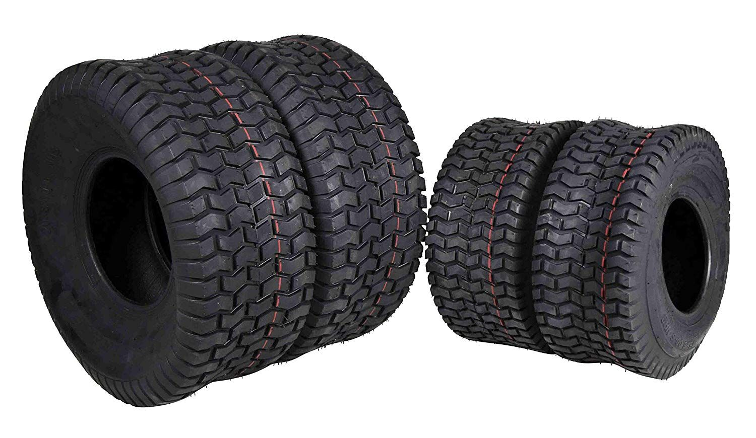 Massfx 4 New Lawn Mower Tires 15x6 6 20x8 8 4 Ply Four Pack Lawn And Garden Check This Awesome Product By Going To T Lawn Mower Tires Lawn And Garden Mower