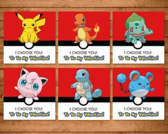 Items Similar To Pokemon Valentineu0027s Day Cards Chalkboard Value Pack * Pokemon  Valentines * Pokemon Favors * Pokemon School Valentines * Pikachu Valentine  ...