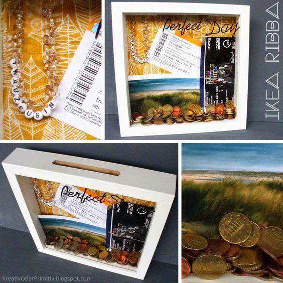 Schaukastenspardosebilderrahmen Geschenke Gifts Gift Wrapping