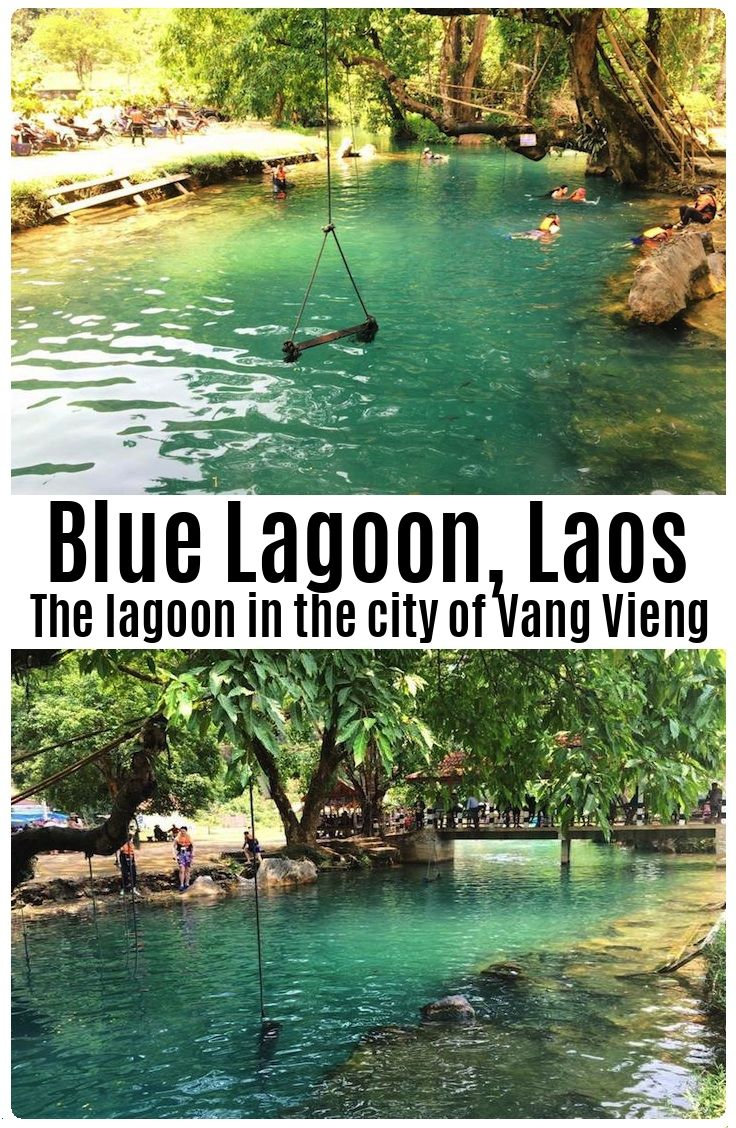 Complete Guide To The Blue Lagoon Vang Vieng Laos Blue Lagoon Lagoon Laos