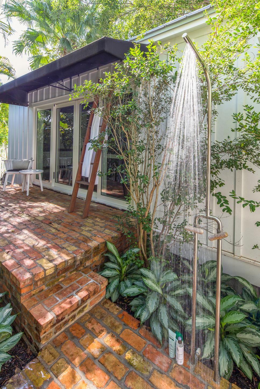 Build an outdoor shower hgtv in 2020 key west
