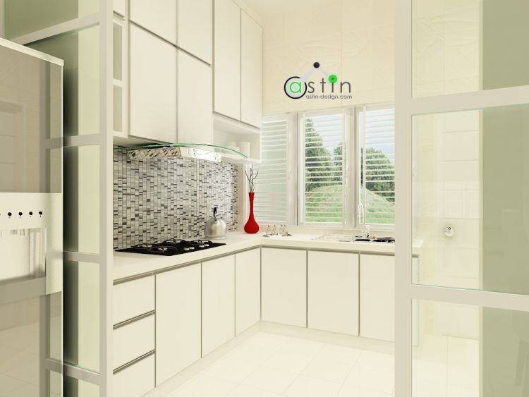 White House Theme  Wet & Dry Kitchen Interior Design #2 Prepossessing Wet Kitchen Design Design Decoration