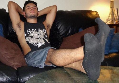 Sweaty sock fetish