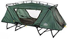 The Kamp Rite Double Tent Cot Sleep Above Ground While