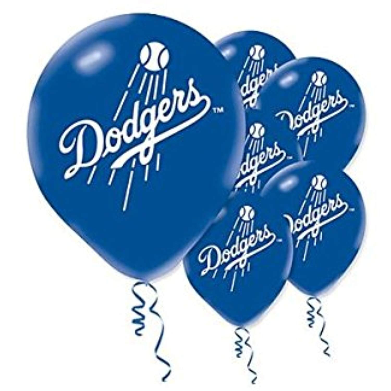 Sports and Tailgating MLB Party Los Angeles Dodgers Printed