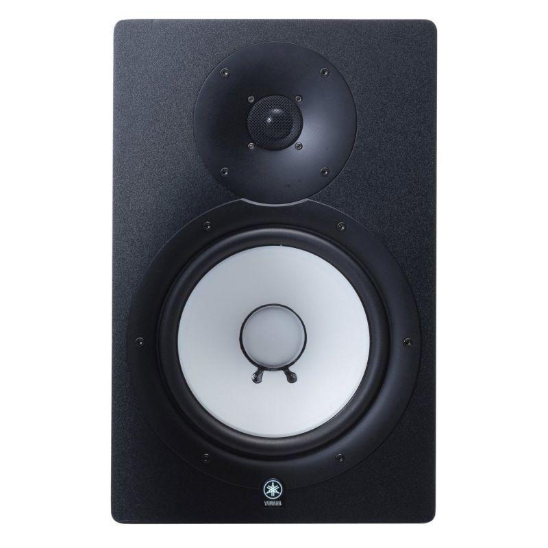 YAMAHA HS8 El HS-8M son unos parlantes potenciados asequibles y de calidad, capaces de asimilar frecuencias bajas y altas sin problemas.