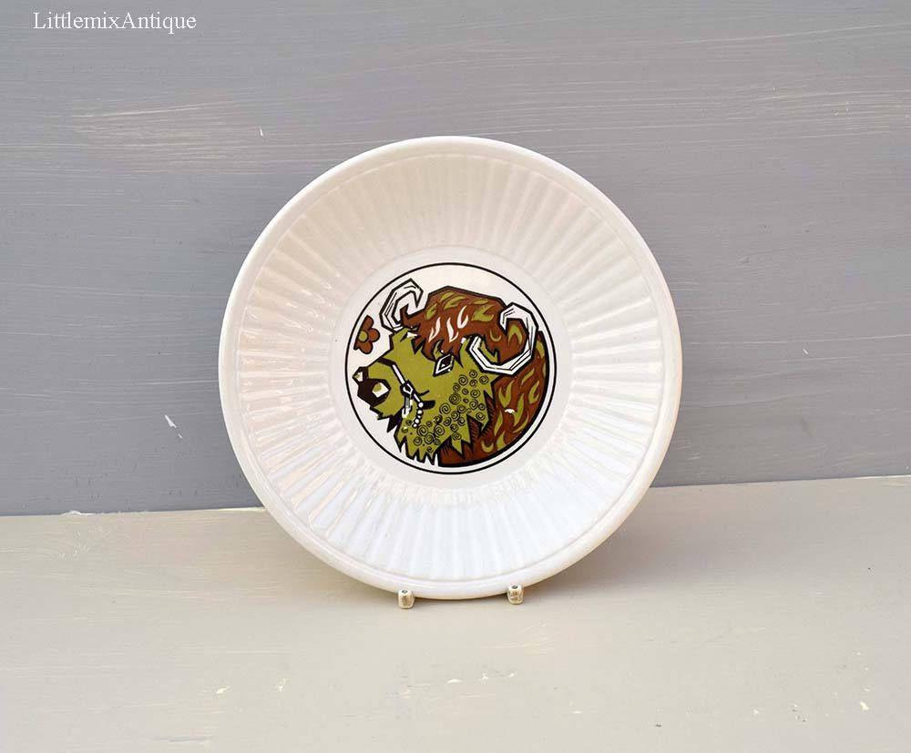 Vintage English Ironstone Pottery Ltd \u0027Beefeater\u0027 Series Stoke on Trent Staffordshire England Side/ & Vintage English Ironstone Pottery Ltd \u0027Beefeater\u0027 Series Stoke on ...