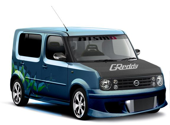 5c5896c81981 Check out this wild Nissan  Cube