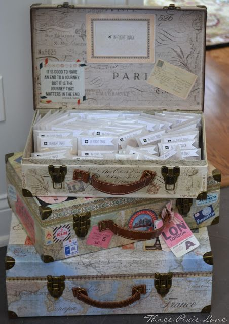 Captivating Three Pixie Lane: A Travel Themed Baby Shower   Oh Baby! The Places You