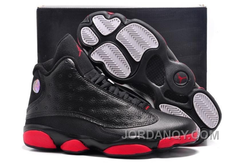 Authentic Air Jordan 13 Retro Infrared 23 Black Red