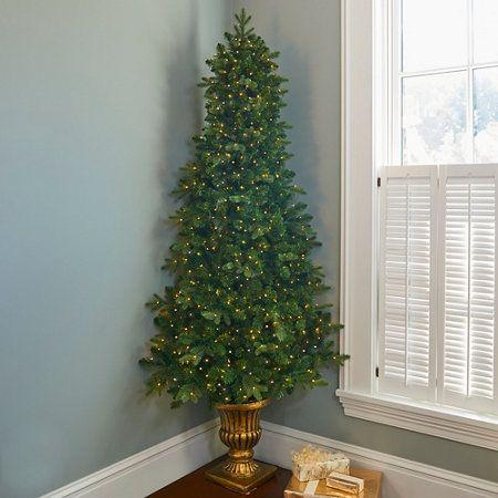 7\u0027 Corner Christmas Tree with Lights in 2018 Home Sweet Home