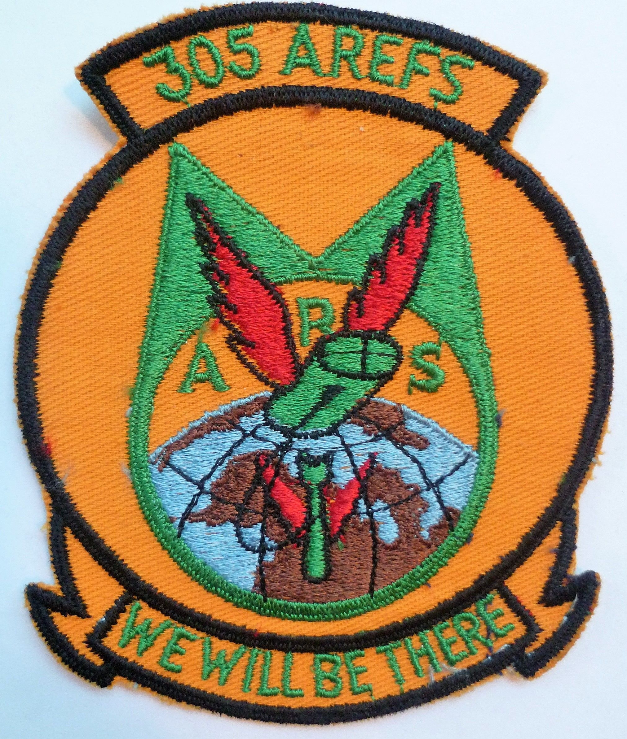 USAF 305th Air Refueling Squadron Cloth Patch Old United