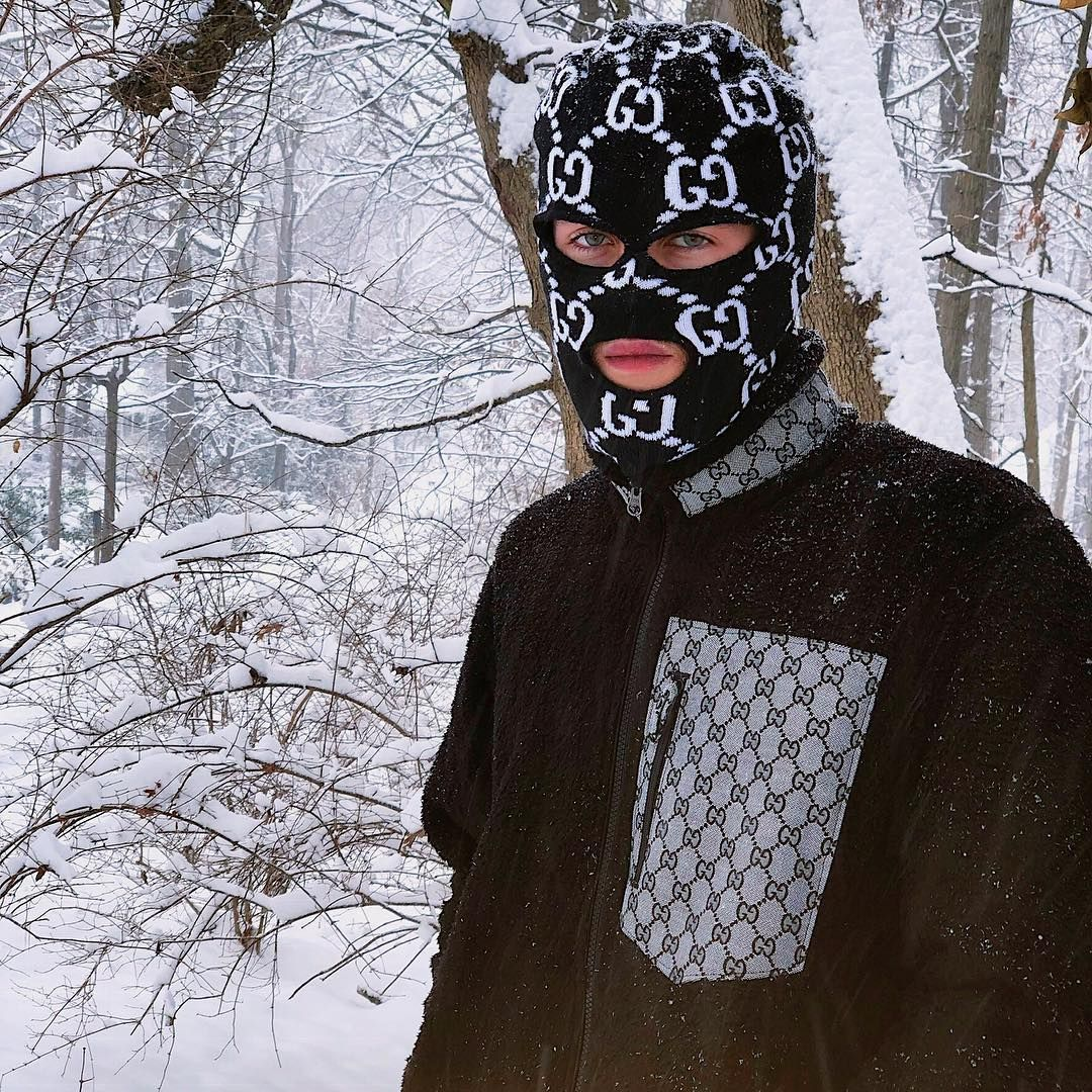 Ski Mask Aesthetic Boy
