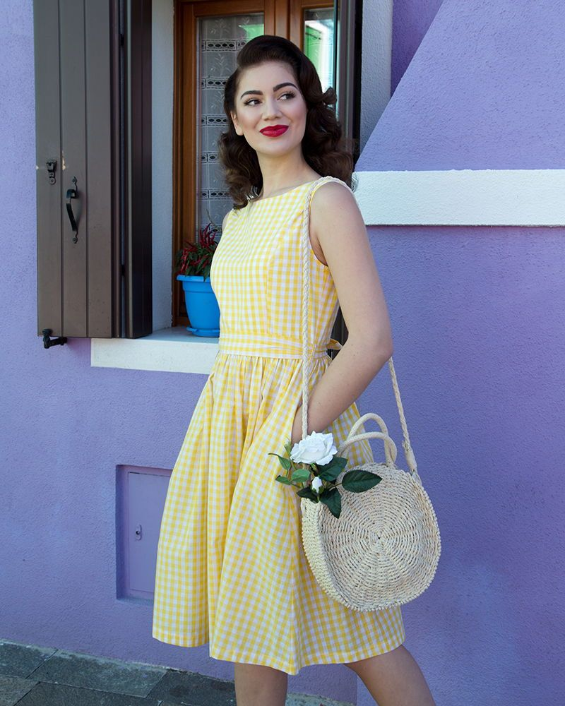 fdc2b3352b7f Audrey' Sunny Gingham - Little Wings Factory | New Spring/Summer ...