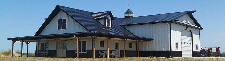pole barn with shop floor plans - Google Search #polebarnhouses