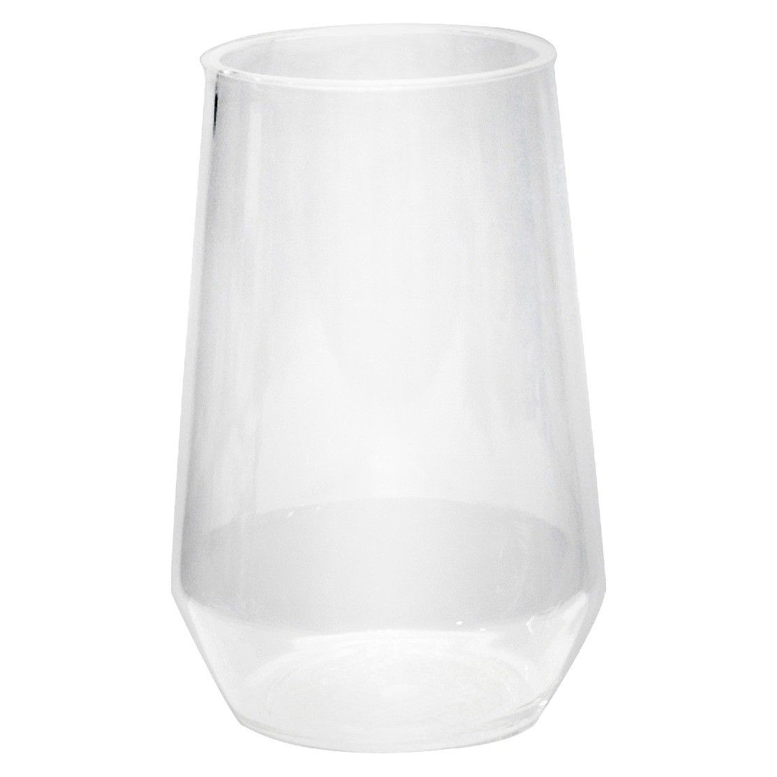 RE Acrylic Large Stemless Wine Glass Clear