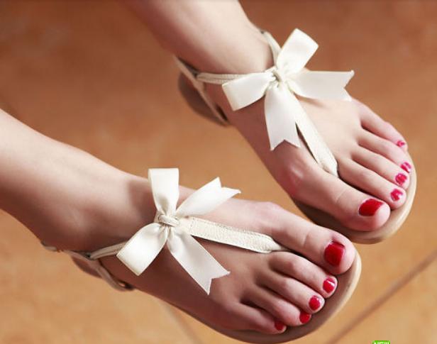 1659f07e82dc Cute Bowknot Flat sandals from NewYorkscene in 2019
