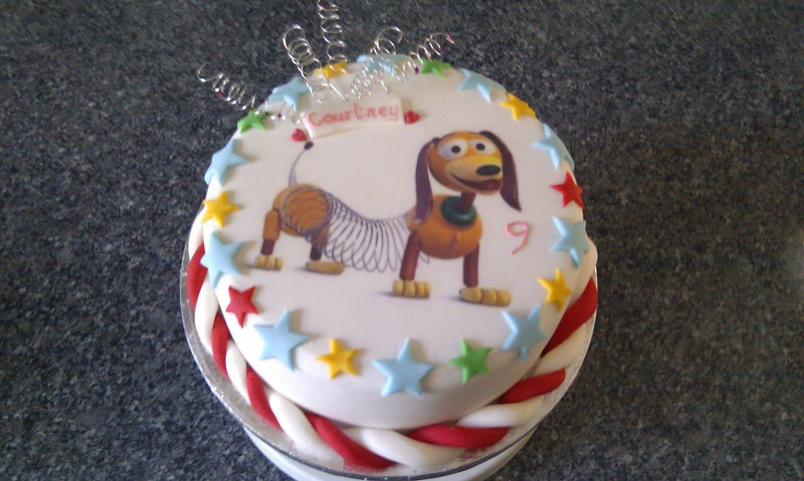 Slinky Dog Cake Toy Story Cakes Dachshund Cake Dog Cake