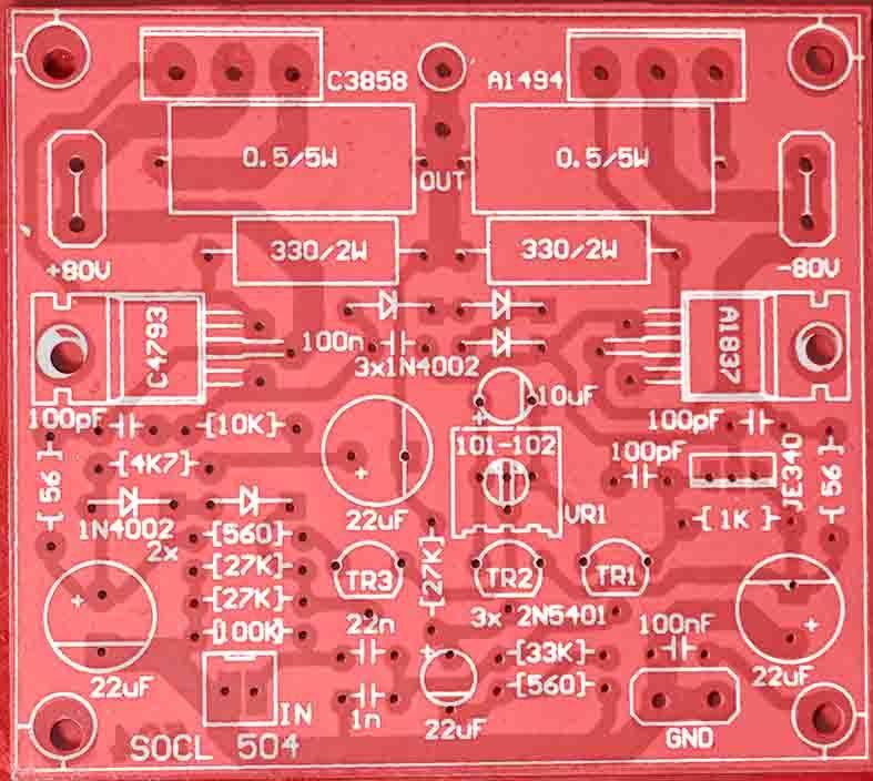 500W-2000W Power Amplifier SOCL 504 in 2019 | Technology | Diy