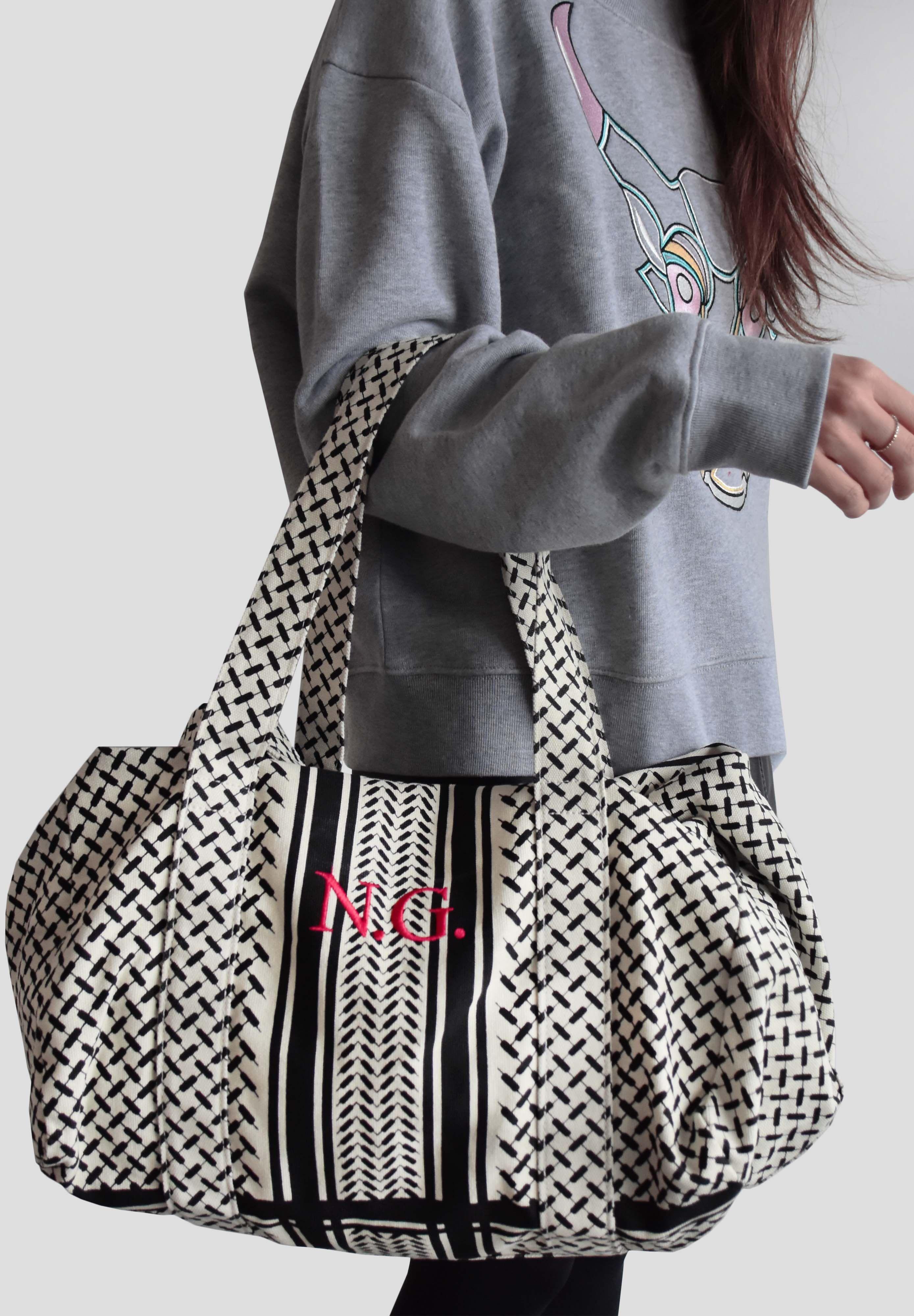 1e0de26ccf05 Individuelle Big Bag Muriel mit Monogramm