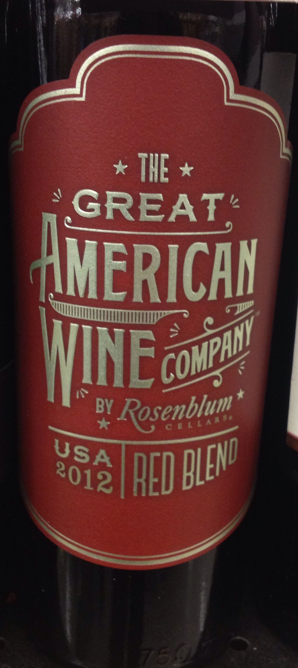 Wine Labels The Great American Wine Company American Wine Wine Packaging Wine And Beer