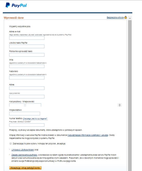 Logowanie Portal Badawczy Portal Paypal Topics