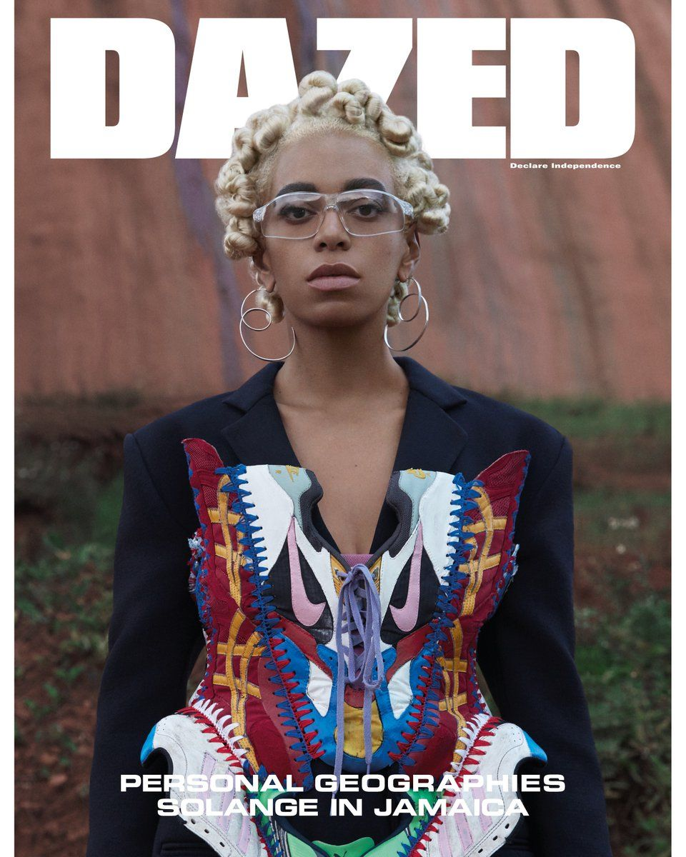 PERSONAL GEOGRAPHIES  solangeknowles covers and pens a poetic seven-part  ode to Jamaica in our new spring summer 2018 issue – out 19 April. 3a745d316