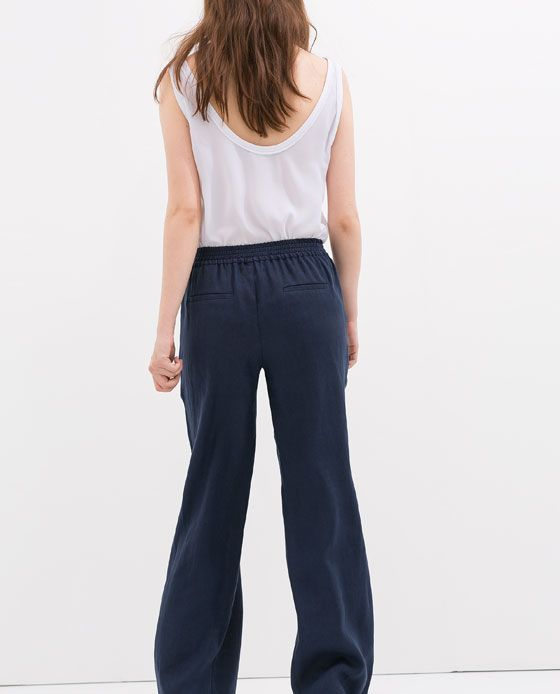 PANTALON large - Zara