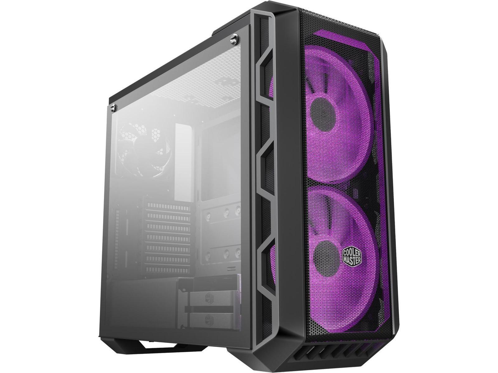 Cooler Master Mastercase H500 Atx Mid Tower Case Mcm H500 Ignn S00 Pcpartpicker Cooler Master Panel Siding Airflow