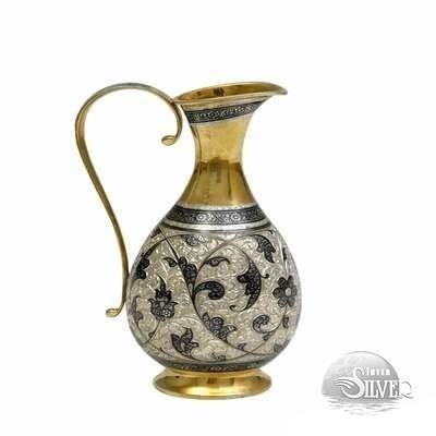 Handmade silver pitcher