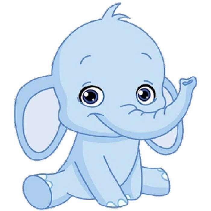 baby elephant clip art 700