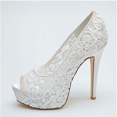 Women S Shoes Platform P Toe Stiletto Heel Lace Pumps Wedding More Colors Available Aud 57 19