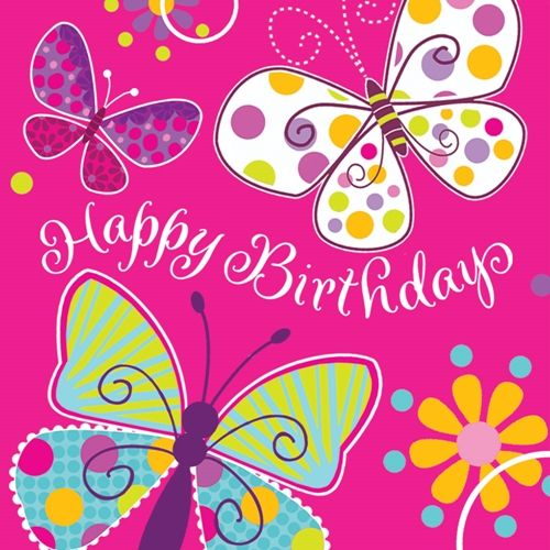 Birthday Girl Quotes: Three Butterfly Friends Are Wishing The Birthday Girl A