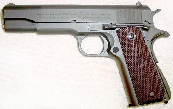 Colt Model 1911A1 U S  Army  45 ACP - G H D  Inspected Serial Number