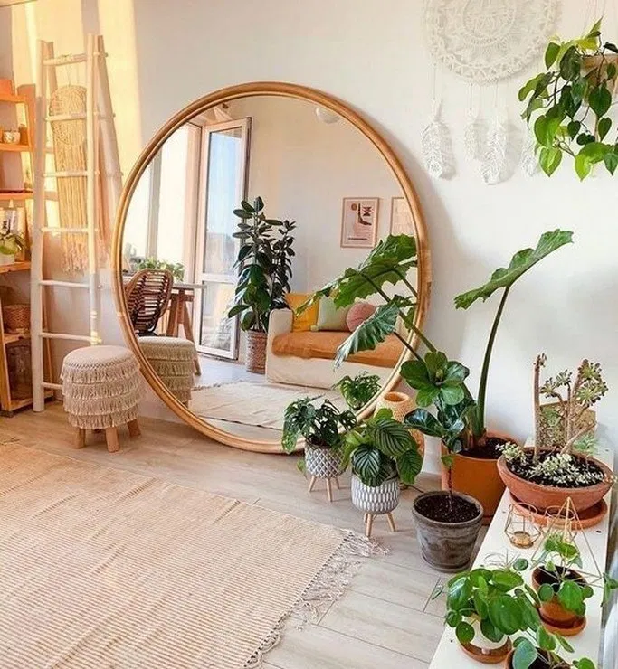 51 Cool Create Your Interior Decoration With Boho Style