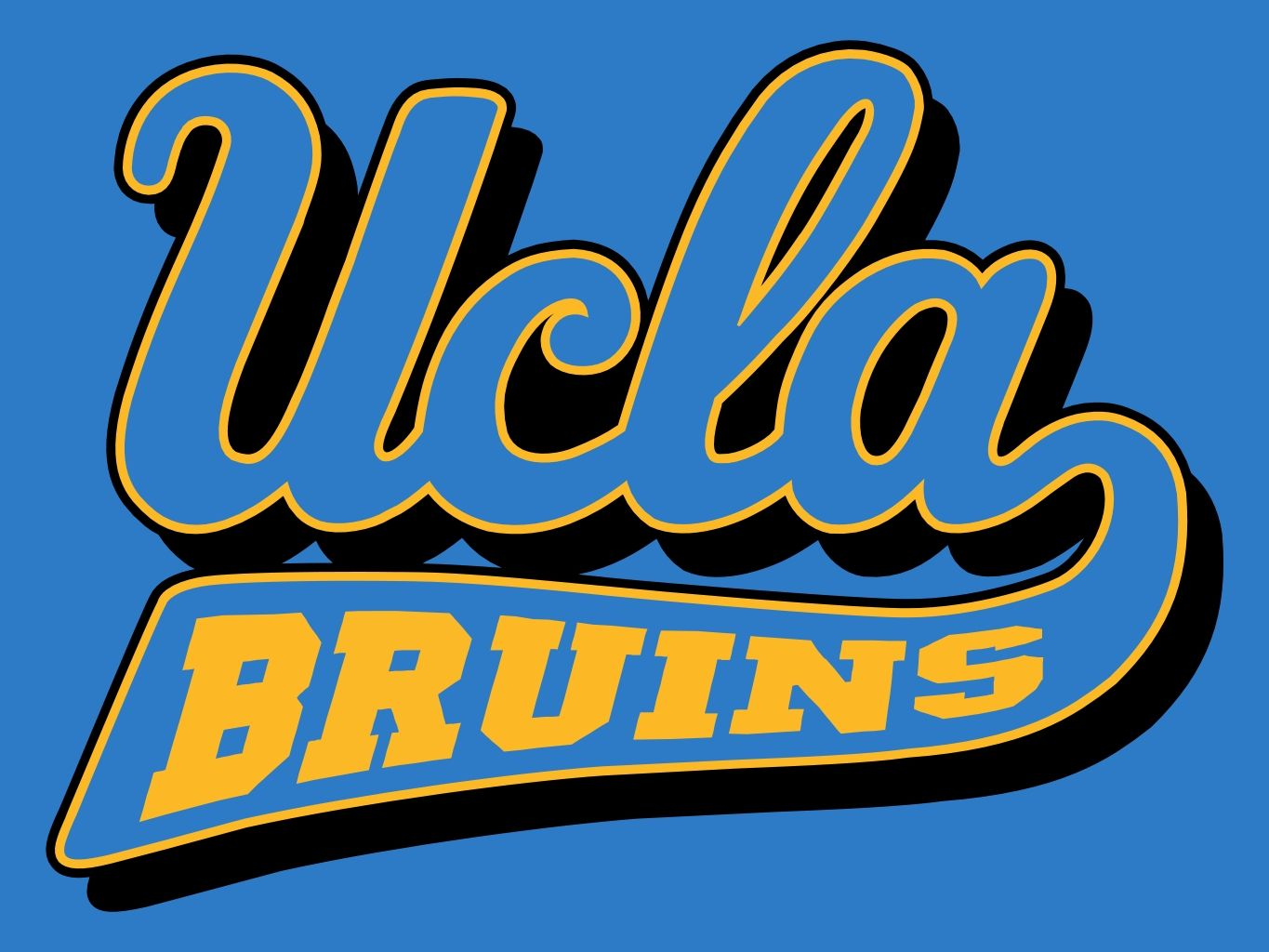 Image result for ucla logo colored background