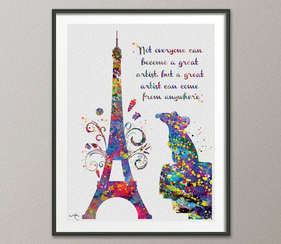Wall Art Quotes Disney : Pin by bannana jazz on ratatouille disney