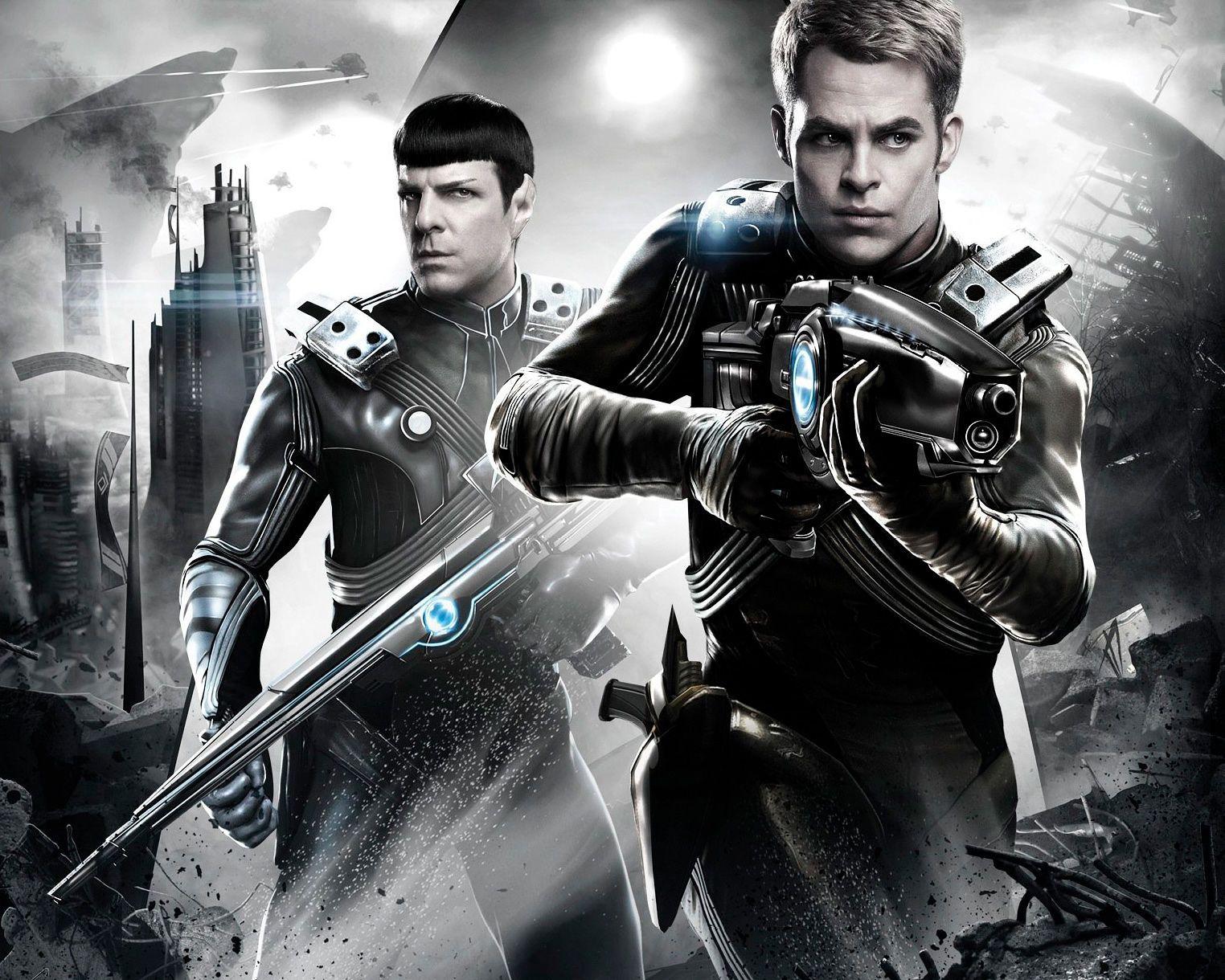 Chris Pine Star Trek Wallpaper Star Trek Beyond Movie Star Trek Movies