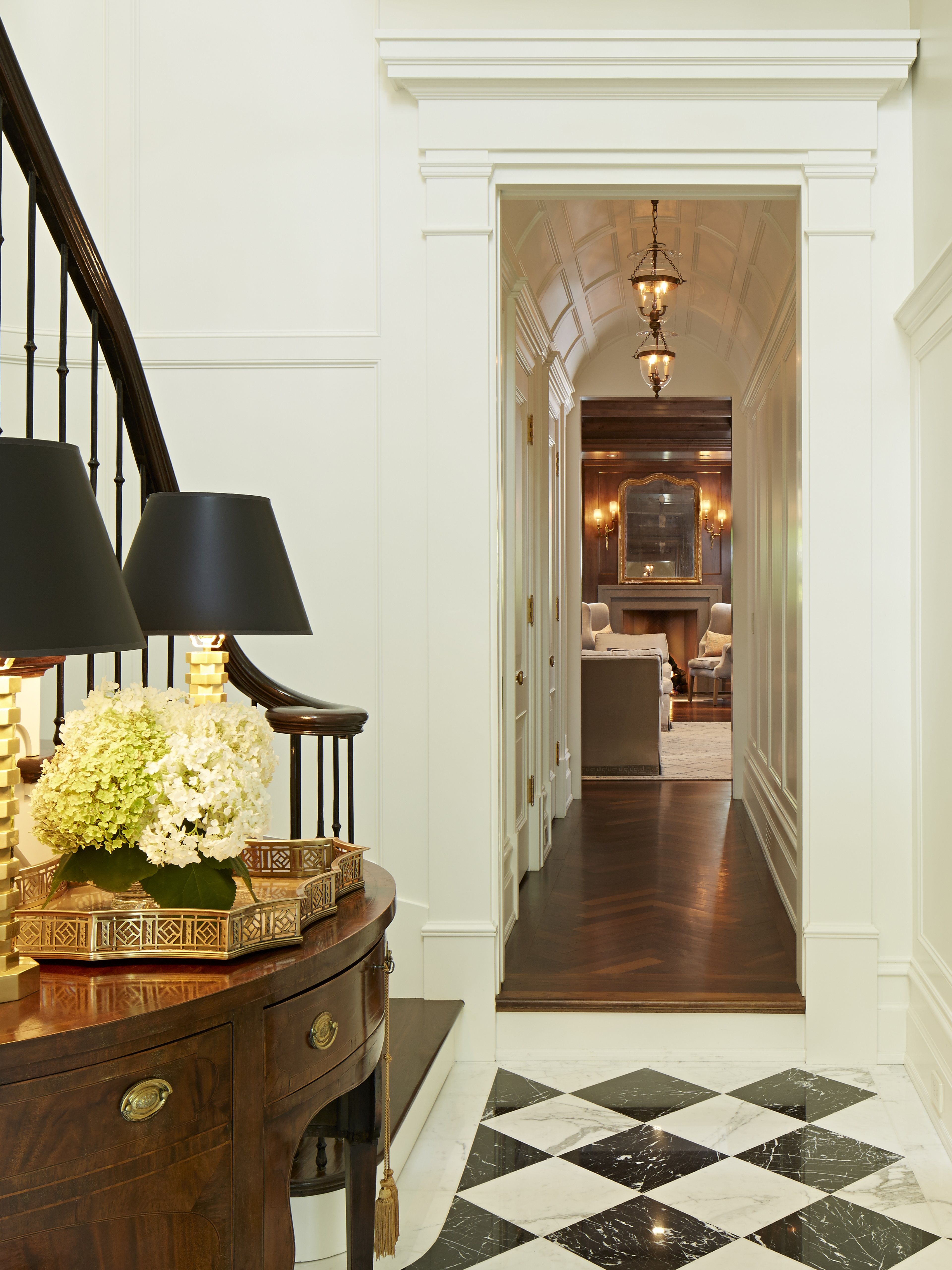 lg construction + development gorgeous foyer | heart of the home