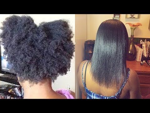 Straighten 4c Natural Hair Without Chemicals Using Argan