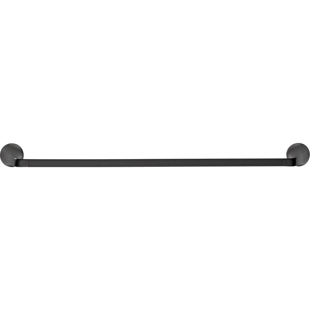 Brizo 692450-BL Sotria Matte Black Towel Bars Bathroom Accessories |eFaucets.com
