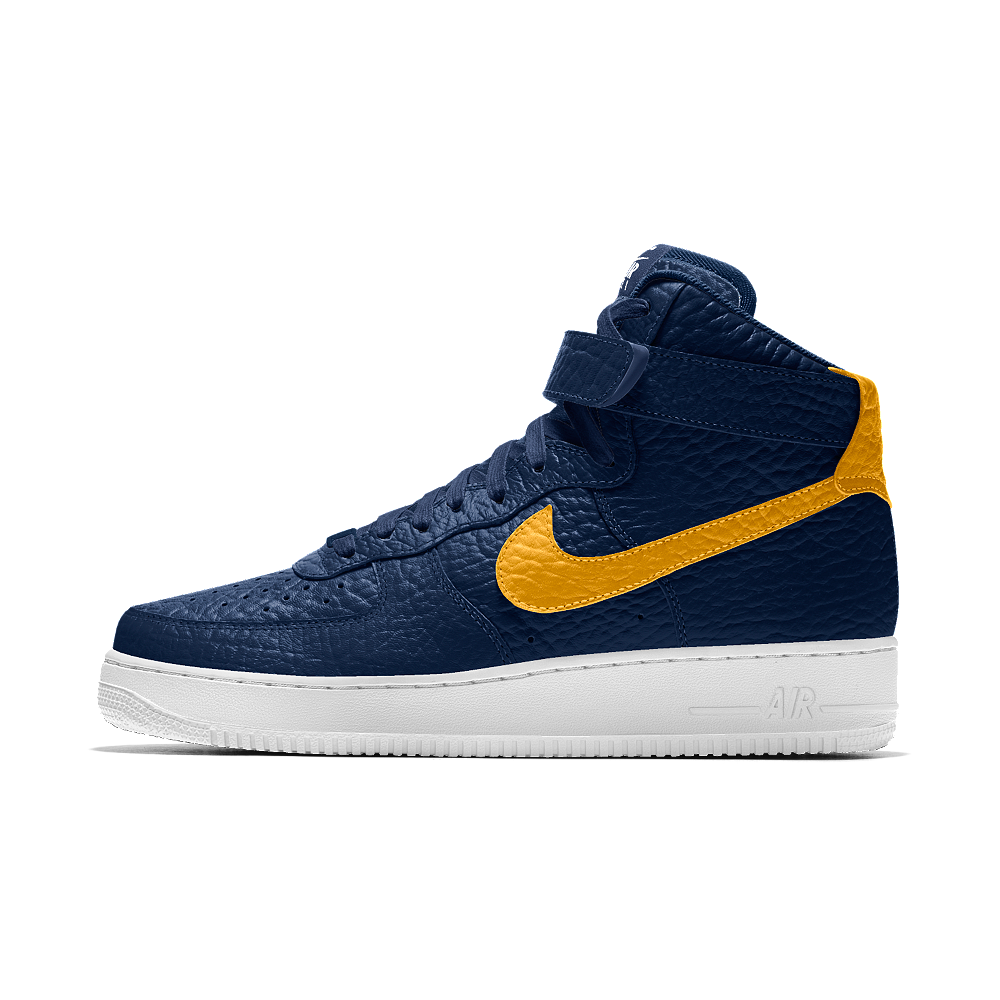 finest selection 0377a f0b8e Nike Air Force 1 High Premium iD (Indiana Pacers) Men's Shoe Size 6.5 (Blue)