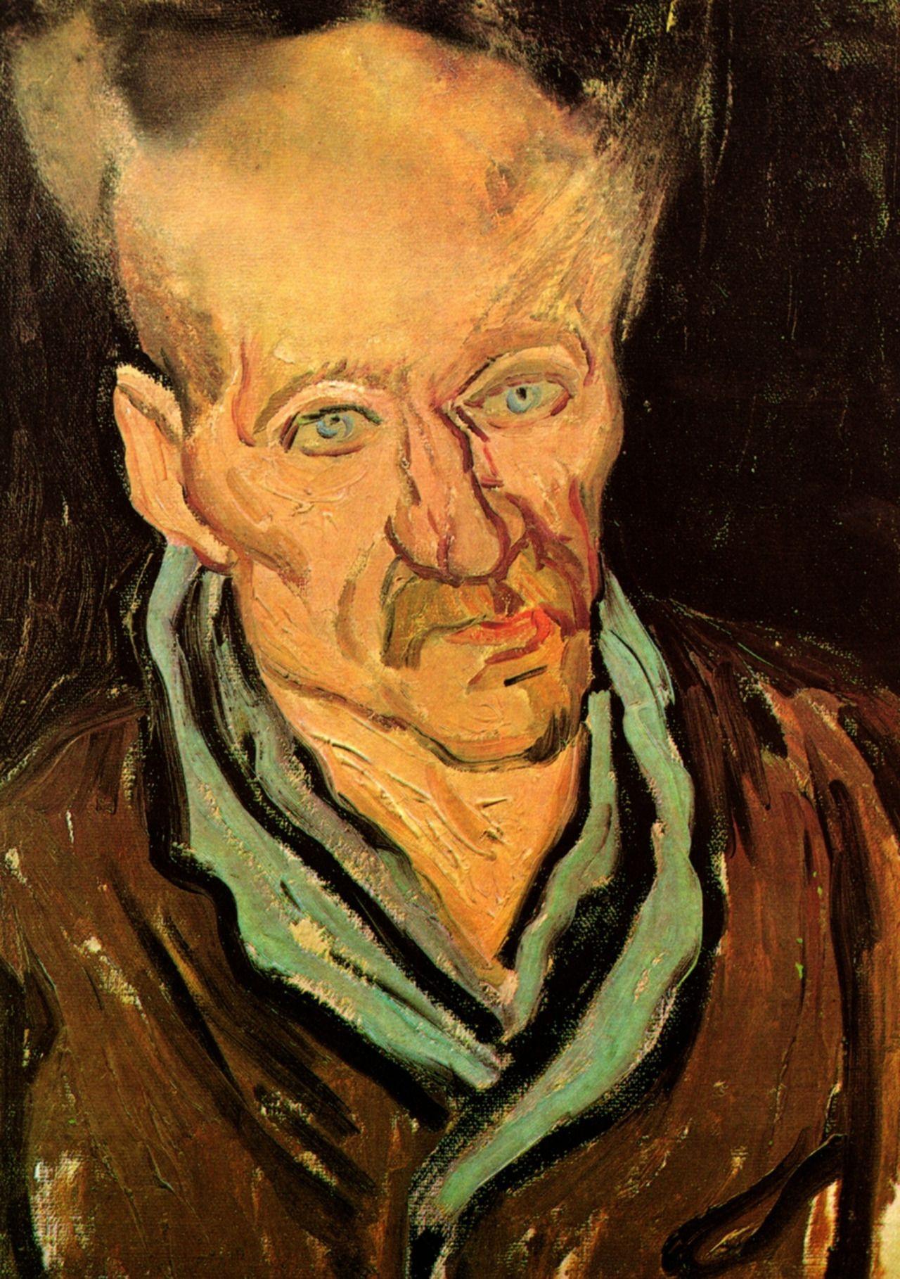 Portrait of a Patient in Saint-Paul Hospital, 1889 Vincent van Gogh
