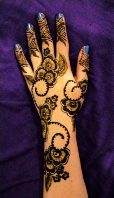 20 Best Arabic Mehandi Designs For Hands And Feet Mehendi