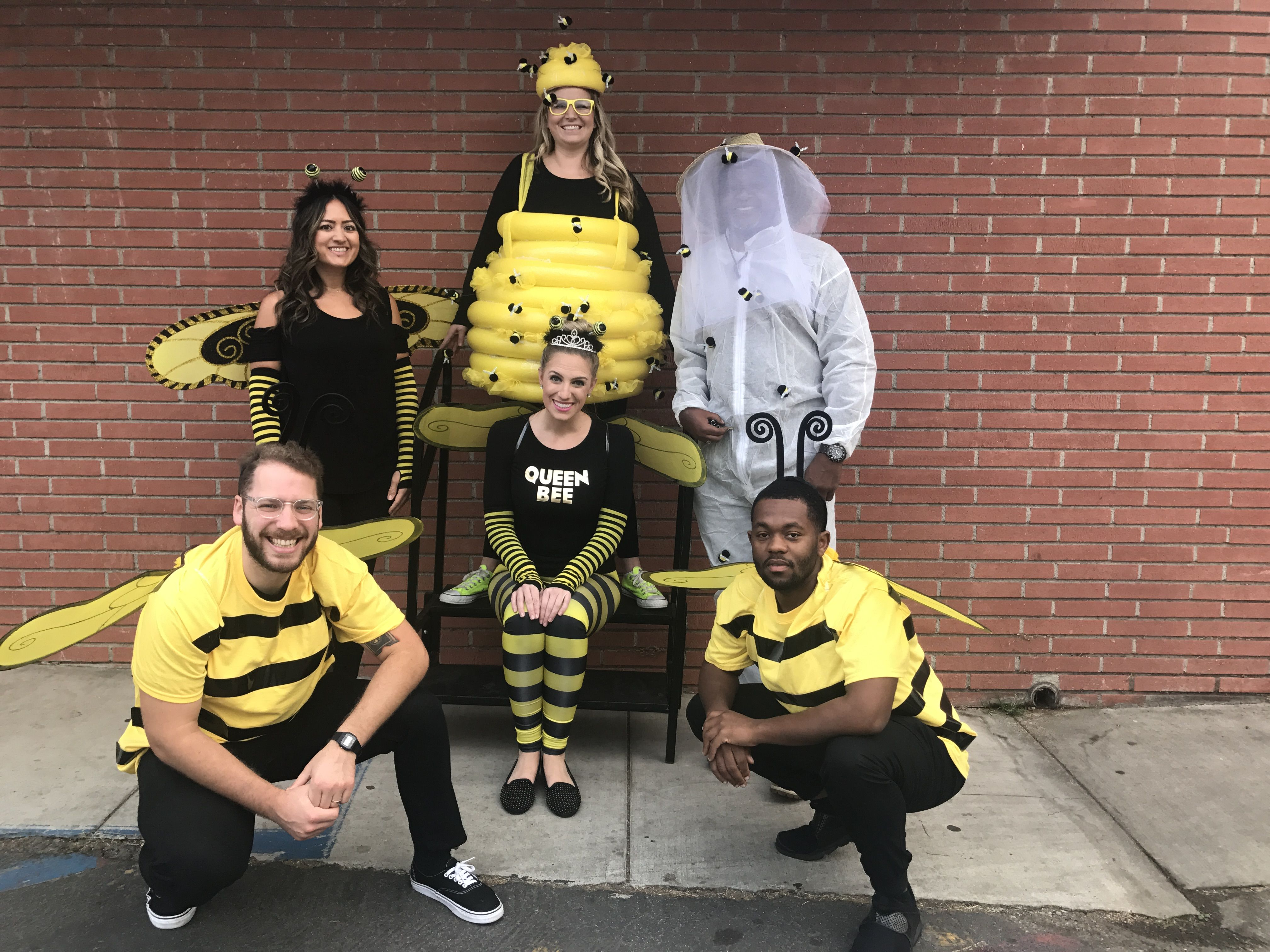 Group DIY costume for middle school bee beekeeper beehive  sc 1 st  Pinterest & Group DIY costume for middle school bee beekeeper beehive ...