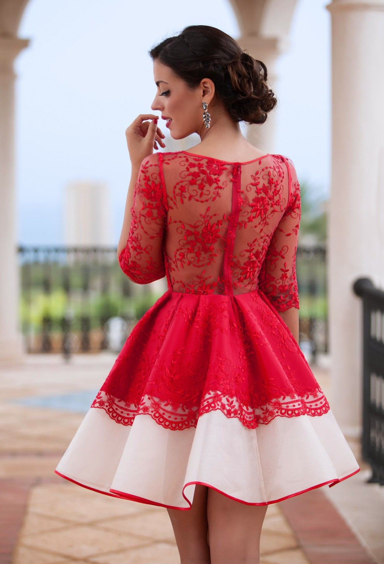 Elisabethg fashion pinterest red tops and dresses